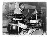 Juke Joint: Drummer, 1939 Prints by Marion Post Wolcott