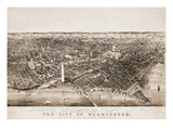 Washington DC, 1892 Giclee Print by  Currier & Ives