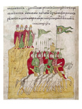Russian Troops, 1380 Giclee Print