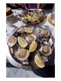 France: Oysters Giclee Print