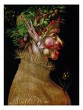 Arcimboldo: Summer, 1563 Giclée-tryk af Giuseppe Arcimboldo