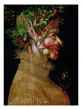 Arcimboldo: Summer, 1563 Prints by Giuseppe Arcimboldo