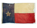 Texas Flag, 1842 Art