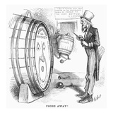 Whiskey Ring Cartoon, 1876 Giclee Print by Thomas Nast