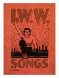 Iww Songbook Cover Print