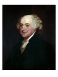 John Adams (1735-1826) Art by Gilbert Stuart