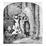 Orphans at Grave, c1889 Giclee Print