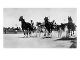Ohio: Horse Race, 1904 Giclee Print by O.V. Greene