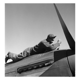 Tuskegee Airman, 1945 Giclee Print by Toni Frissell