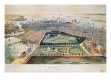 Boston, 1850 Giclee Print by John Bachmann