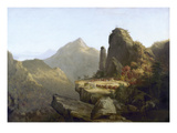 Cole: Last of the Mohicans Giclee Print by Thomas Cole