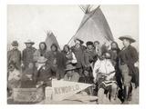 Pine Ridge Reservation Poster by John C.H. Grabill