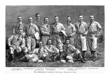 New York Baseball Team Prints by Napoleon Sarony