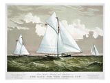 America's Cup, 1881 Print by  Currier & Ives