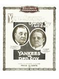 Baseball Program, 1923 Giclee Print