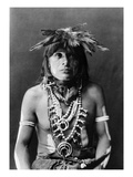 Hopi Chief, c1900 Prints by Edward S. Curtis
