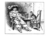 Puss in Boots, 1891 Giclee Print by George Percy Jacomb-Hood