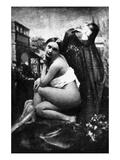 Nude Posing, c1843 Giclee Print