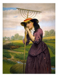 Brown: Maud Muller, c1868 Giclee Print