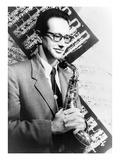 Paul Desmond (1924-1977) Giclée-Druck von Carl Van Vechten