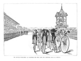 Bicycling Tournament, 1885 Giclee Print