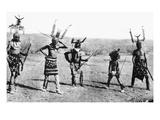 Apache Dance, 1889 Giclee Print by Katherine T. Dodge