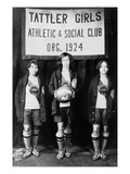 Harlem: Basketball, 1924 Premium Giclee Print by Eddie Elcha