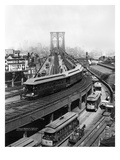 NY: Brooklyn Bridge, 1898 Prints