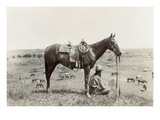 Texas: Cowboy, c1910 Giclee Print by Erwin Evans Smith