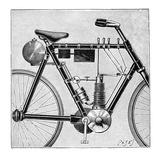 Motorcycle, 1895 Prints