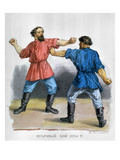 Russian Boxers, c1836 Premium Giclee Print by Fedor Solntsev