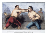 Sullivan and Kilrain Fight Giclee Print