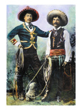 Mexican Cowboys Giclee Print