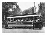 Washington Streetcar Giclee Print