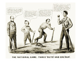 Presidential Campaign, 1860 Giclee Print by  Currier & Ives