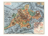 Map: Boston, c1880 Giclee Print by Justin Winsor