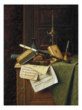 Harnett: Still Life, 1885 Premium Giclee Print by William Michael Harnett