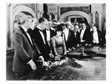 Silent Film Still: Gambling Giclee Print