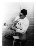 Dizzy Gillespie (1917-1993) Giclée-Druck von Carl Van Vechten