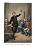 Patrick Henry (1736-1799) Giclee Print by Jean Leon Gerome Ferris