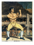 Boxing Champion, 1790s Giclee Print by James Gillray