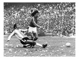 Soccer Match, 1977 Giclee Print