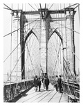 Brooklyn Bridge, 1893 Poster