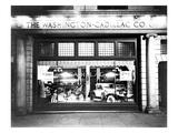 Cadillac Storefront, 1927 Print