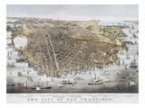 View of San Francisco, 1878 Giclee Print by  Currier & Ives