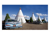 Wigwam Motel, 2006 Art by Carol Highsmith