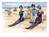 Gibson Girls, 1900 Giclee Print by Charles Dana Gibson