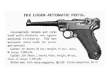 Luger Automatic Pistol Posters