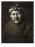 Navajo Man, c1904 Art by Edward S. Curtis