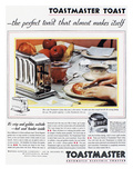 Toaster Ad, 1931 Lámina giclée